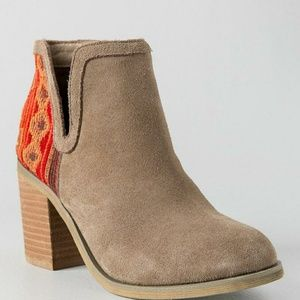 RAG & CO, CARLA TAPESTRY ANKLE BOOTIE